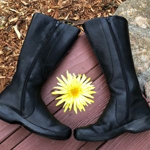 🌺 KEEN Bern Baby Bern Black Tall Boots Wmn. Sz. 8
